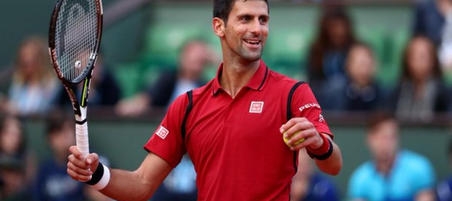 Djokovic into 30th Grand Slam semi-final