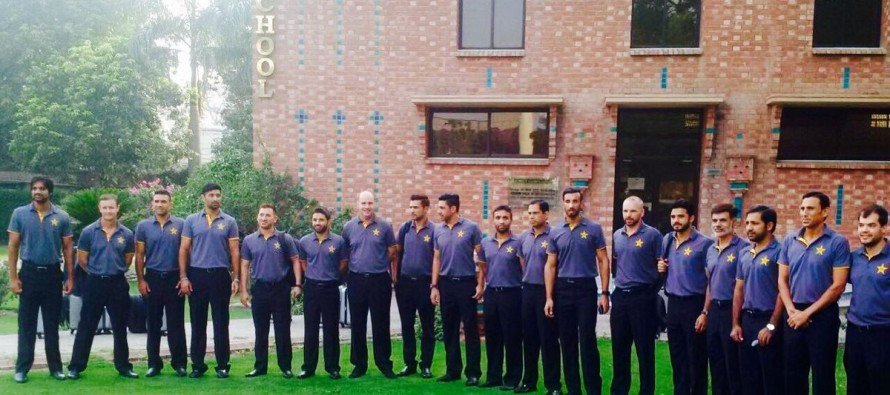 Green shirts depart for challenging England tour