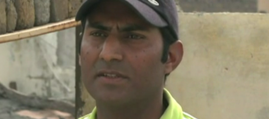 Story of a disabled cricketer who never gave up