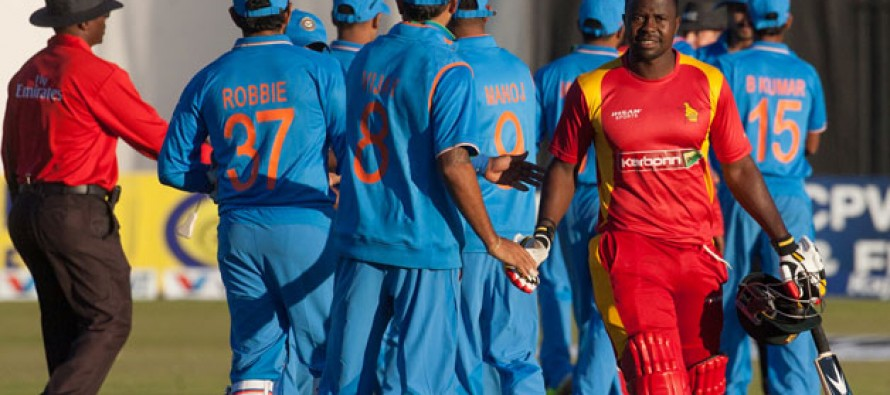 India thrash Zimbabwe for series win