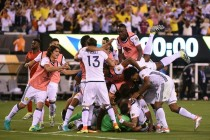Colombia advance as Peru pay penalty
