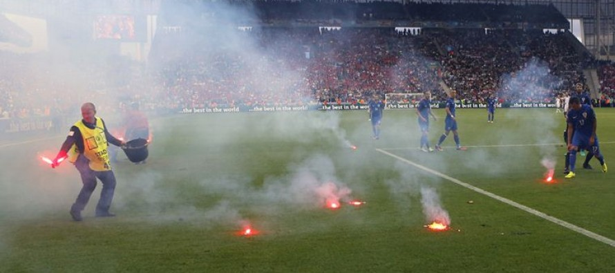 Hungary, Belgium and Portugal charged by UEFA after crowd trouble