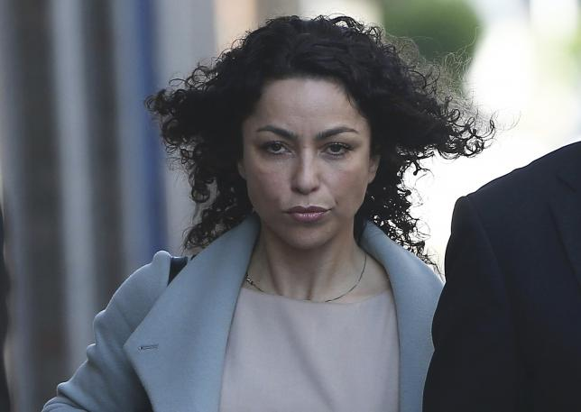 Former Chelsea doctor Eva Carneiro arrives at the Croydon Employment Tribunal Court in London, Britain June 6, 2016. REUTERS/Neil Hall
