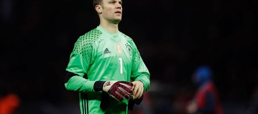 Germany's safe hands Neuer poised for more records