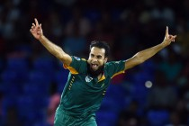 Spin-king Tahir leaves Windies in a tangle
