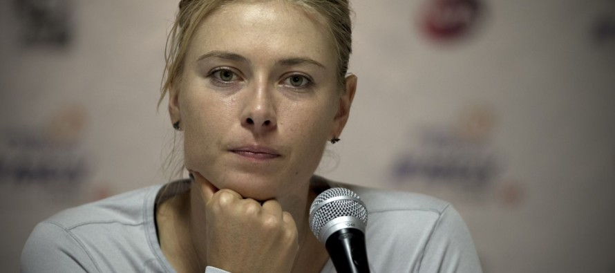 Sharapova appeals two-year doping ban to CAS