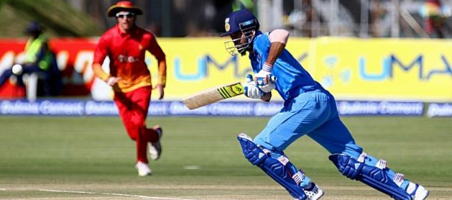 India level T20 with 10-wicket Zimbabwe win