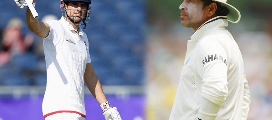 Cook says he doesn't compare to 'genius' Tendulkar