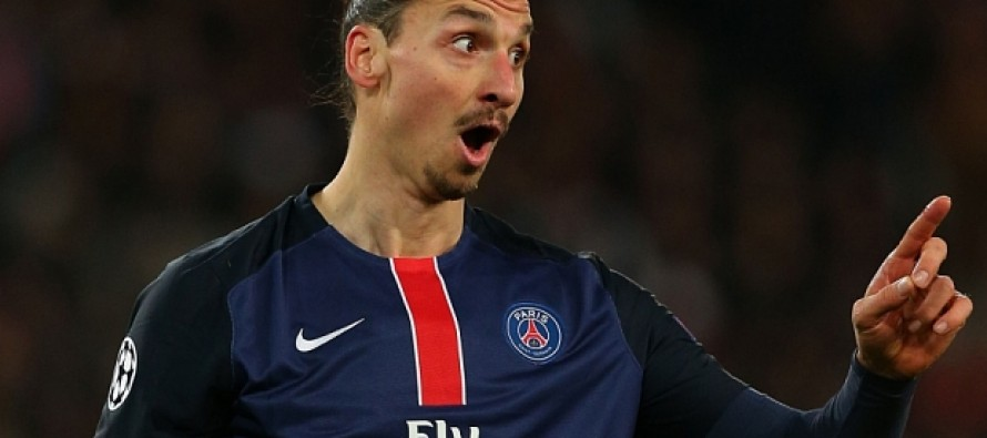 Ibrahimovic takes a swipe at French president