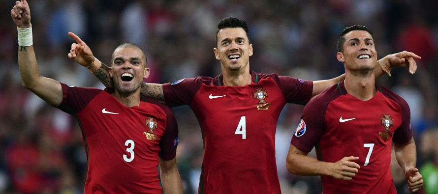 IN PICTURES: Portugal's win over Poland in Euro 2016