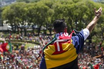 Portugal unleashes national celebrations for Euro heroes
