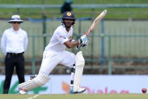 Ton-up Mendis helps Lanka build crucial lead