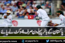 Fall of wickets on 1st Day
