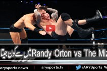 Randy Orton vs The Miz – WWE SMACKDOWN 26 JULY 2016
