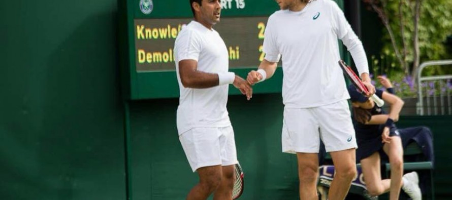 Aisam-ul-Haq through to second round at Wimbledon