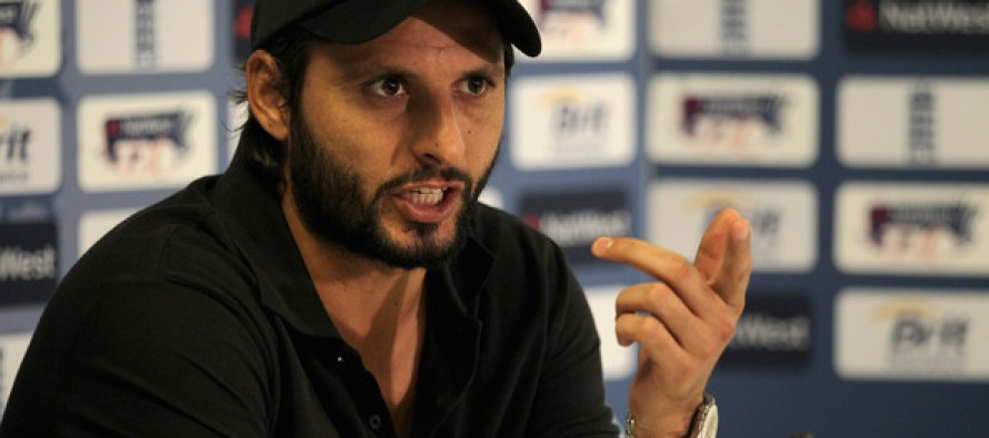 Shahid Afridi feels that there is no talent in Pakistan