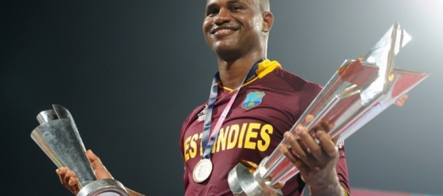 WICB names Samuels as the West Indies Cricketer of the Year