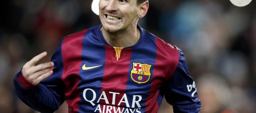 Spanish league chief happy for Messi to stay