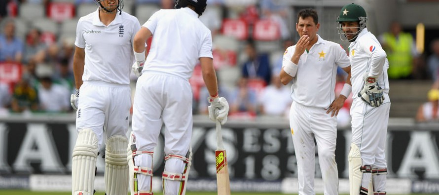 Pakistan dancing on the edge of a razor blade at Old Trafford