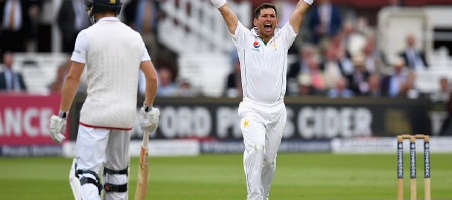 Yasir Shah's five-for helps Pakistan take control of Lord's Test