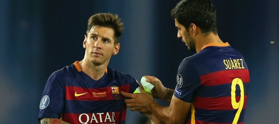 Messi is the best player by far, says Suarez
