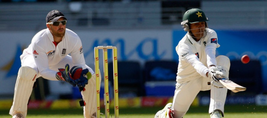 Tauseef Ahmed shows confidence in Pakistan's batting line