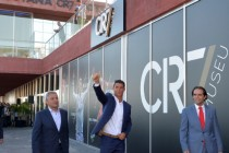 "Ronaldo opens own ""CR7"" hotel, gives name to airport"