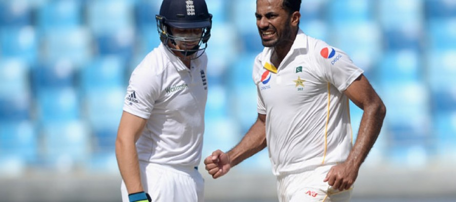 Wahab looks positive ahead of the first test against England