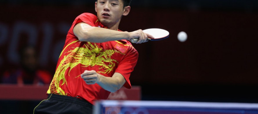 China carries Olympic table tennis torch