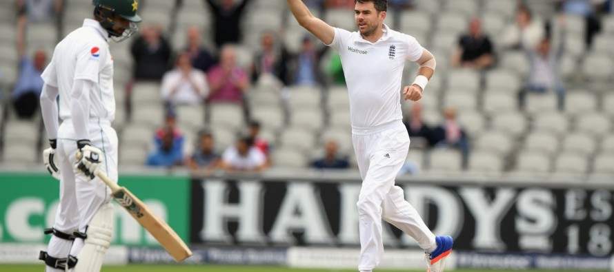 James Anderson breaks McGrath's record