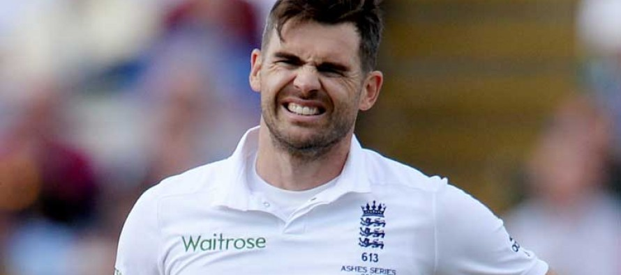 Shoulder injury to keep Anderson out of the first test against Pakistan