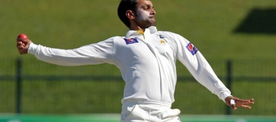 Hafeez likely to undergo bowling action test after second test
