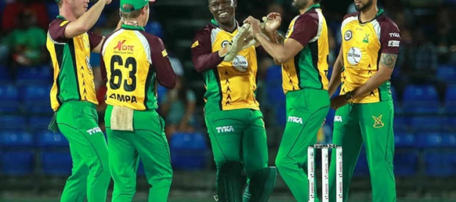 CPL 2016: Sohail Tanvir and Smith take Warriors to victory