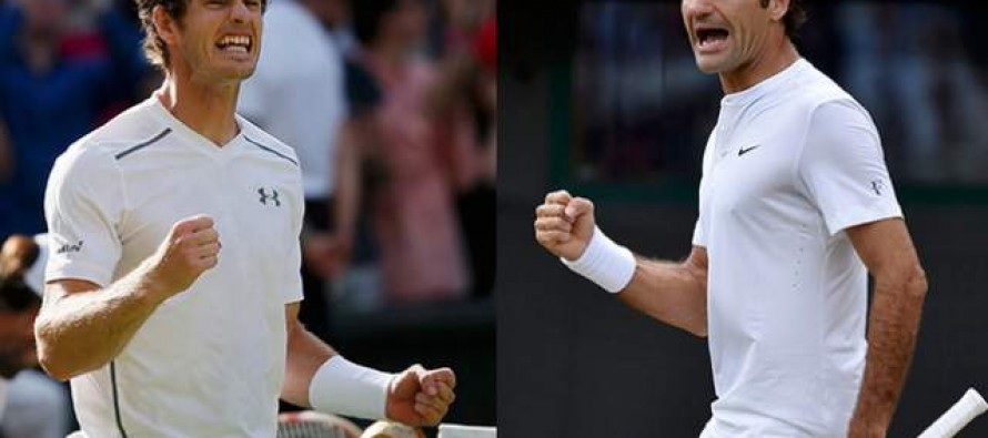 Federer, Murray look to pounce on Djokovic absence