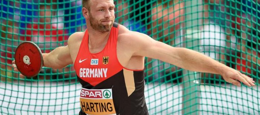 Discus champ Harting slams Bolt over doping stance