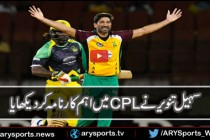 Sohail Tanvir was adjourned man of the match in CPL match