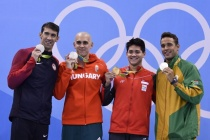 Schooling stuns Phelps for Singapore's first Games gold