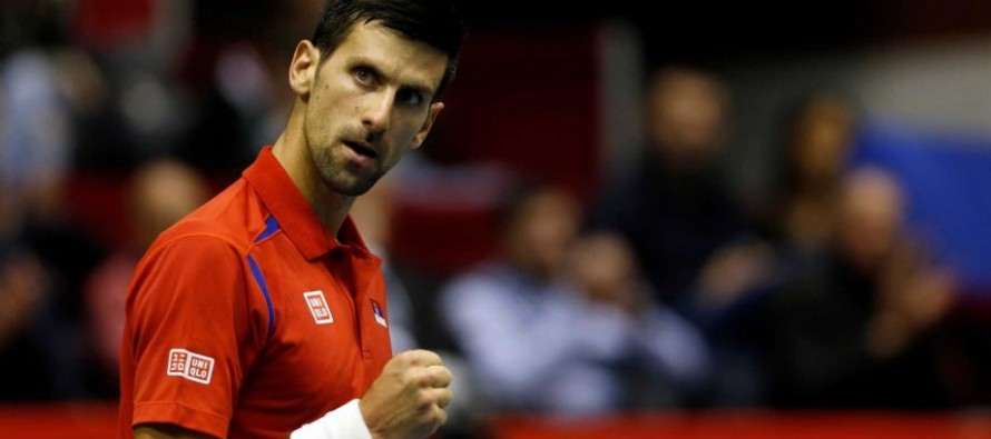 Djokovic to play Del Potro in first round