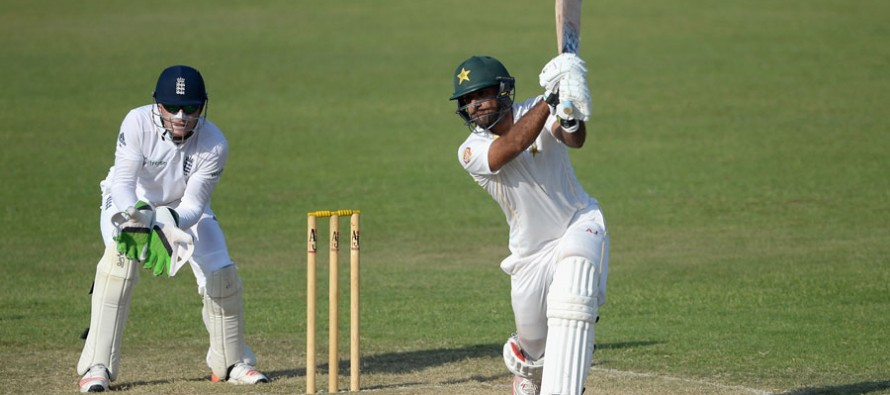 Iftikhar Ahmed makes his Test debut at The Oval