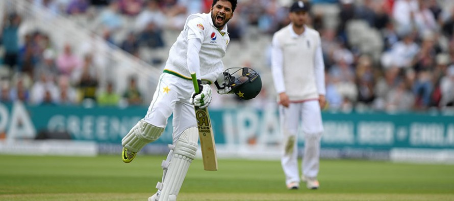 Sami Aslam and Azhar Ali put Pakistan in a strong position