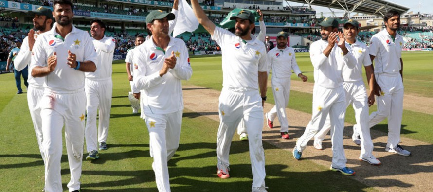 PM Nawaz Sharif calls Misbah to congratulate on the historical win