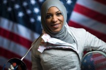 Muslim fencer pierces bigotry in Olympic first