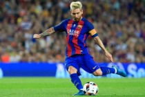 Enrique hails squad as Messi leads cup romp
