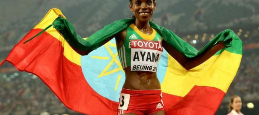 World record boost for Ethiopia's Ayana as athletics begin amid doping scandal