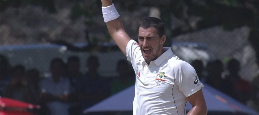 Sri Lanka hit back after Starc's double strike