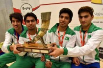 Pakistan defeat Egypt in the final to win World Junior Squash Championship