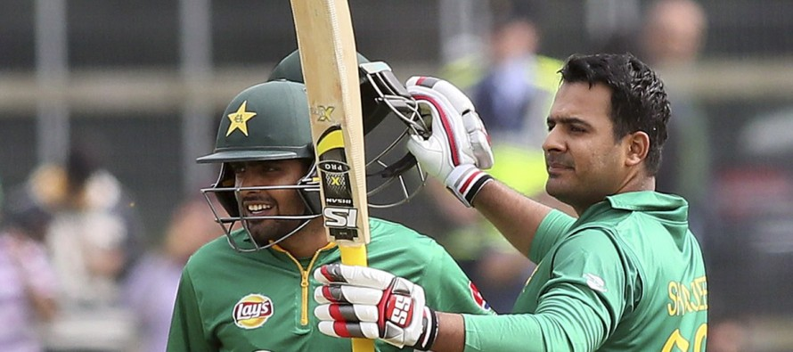 Sharjeel scores third fastest 150 to put Pakistan in command