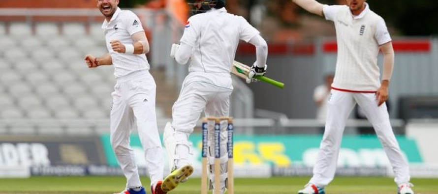 Azhar Ali's wicket carries great importance, says James Anderson