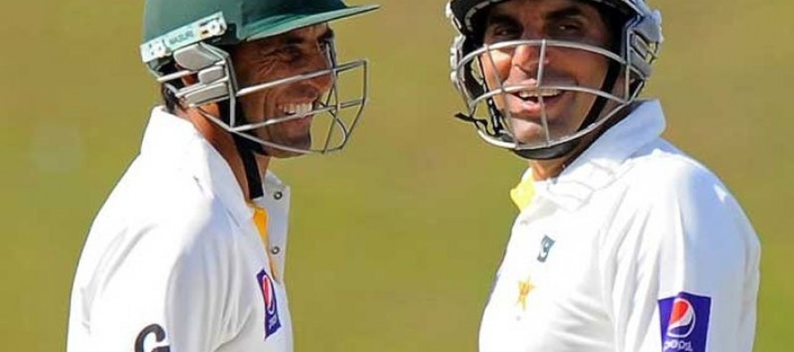 Miandad worried about having no substitutes for Misbah and Younis
