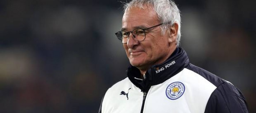 Ranieri keen to keep underdog tag for high-flying Leicester
